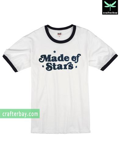 Made of Stars Ringer T-shirt