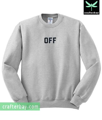 Off Font Sweatshirt