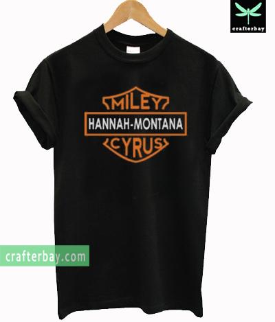 Hannah Montana Harley logo T-shirt