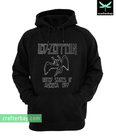 Led Zeppelin North American Tour 1977 Hoodie