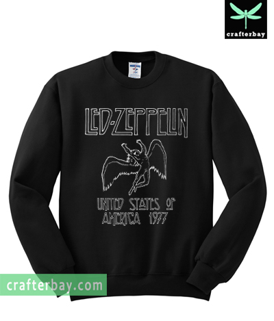 Led Zeppelin North American Tour 1977 Sweatshirt