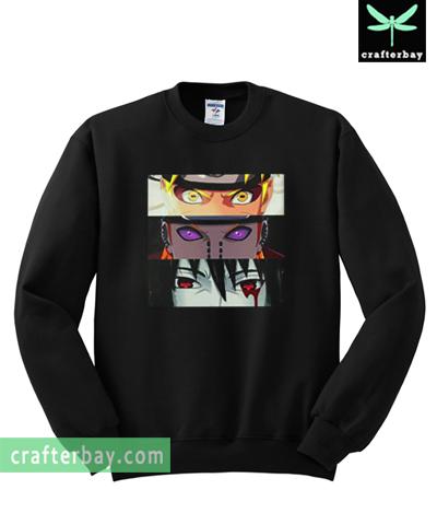 Japan Anime Naruto Sasuke Sweatshirt