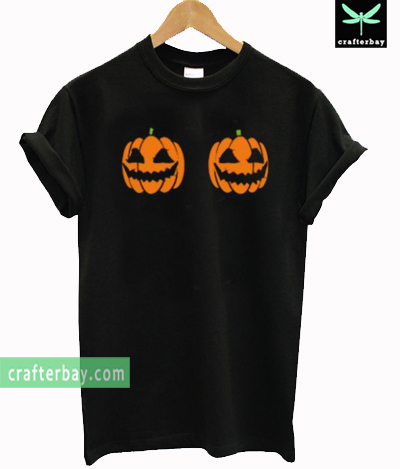 Pumpkin Boobs T-shirt