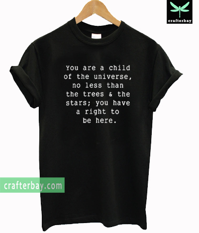 Child Of The Universe T-shirt