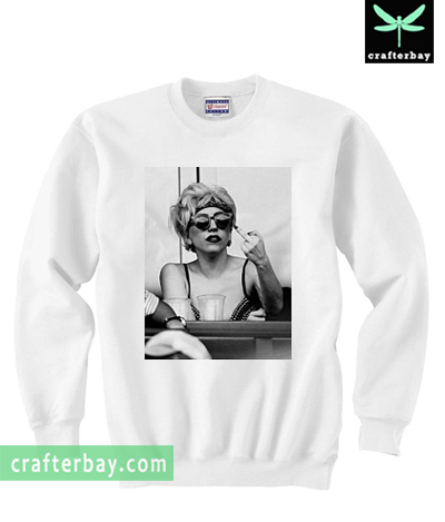 Lady Gaga Finger Bird Sweatshirt