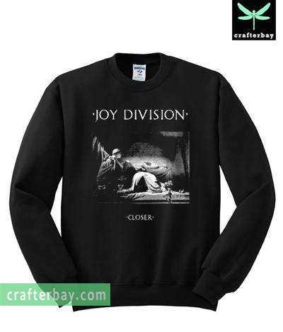 Vintage Joy Division Closer Album Sweatshirt