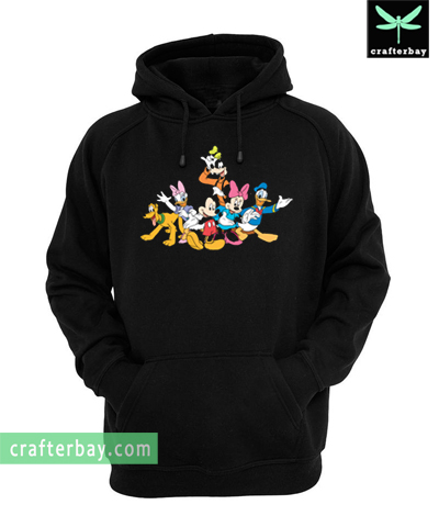 Disney Mickey and Friends Character Hoodie