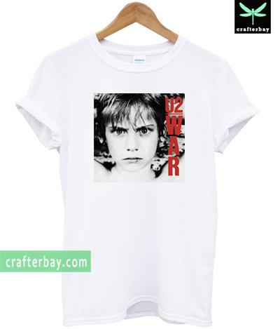 Vintage War U2 1983 T-shirt
