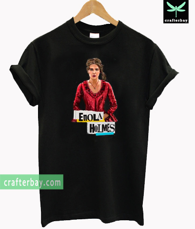 Enola Holmes Detective T-shirt