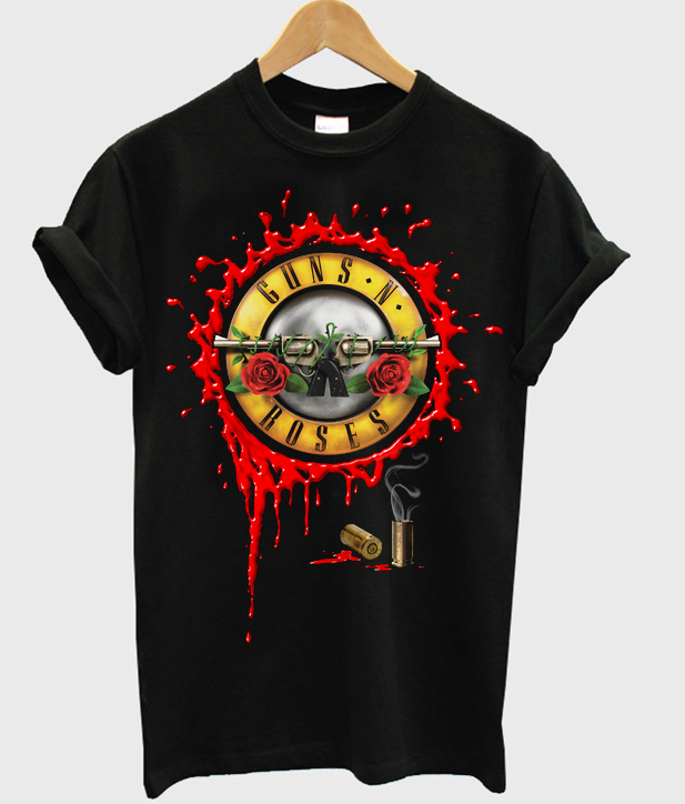 Guns N Roses Blood Bullet T-shirt